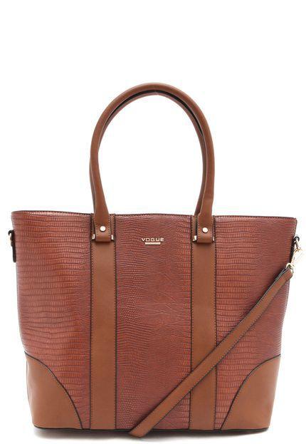 Bolsa Vogue Camel - Calçados de diversas marcas com preços ... 705b57376f