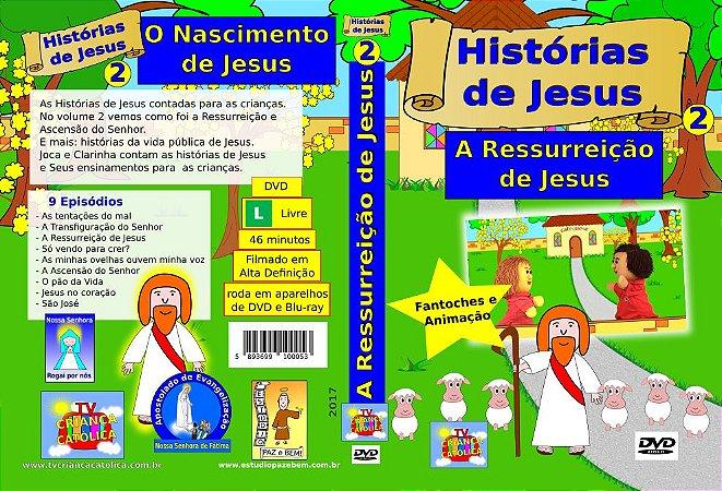 DVD A RESSURREIÇÃO DE JESUS - Histórias de Jesus 2