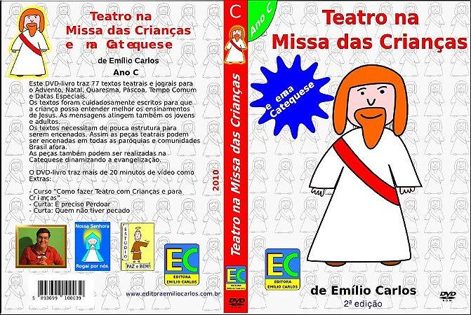 DVD-livro Teatro na Missa das Crianças - Ano C