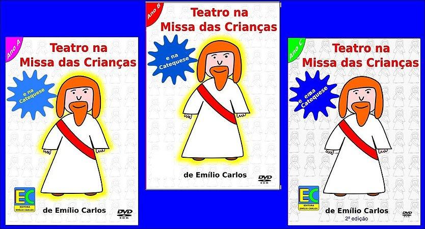 Kit Teatro na Missa das Crianças - Anos A, B e C