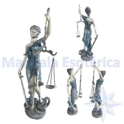 Dama da Justiça em Resina