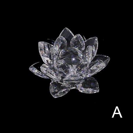 Flor de Lótus Cristal Grande