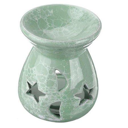 Rechô de Cerâmica Diversas Cores - Estrela e Lua