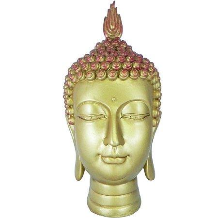 Cabeça de Buda Sidarta Dourado