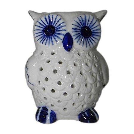 Rechô em cerâmica Coruja
