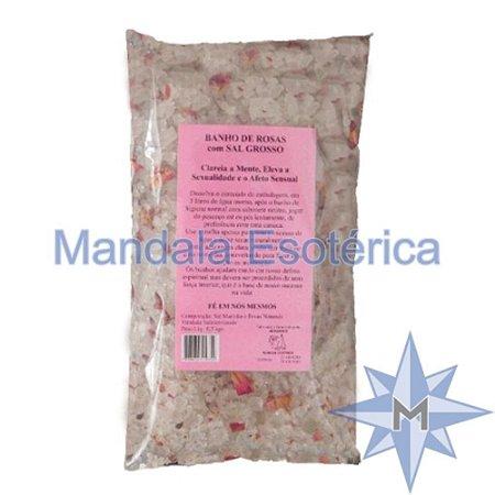 Banho de Rosas com Sal Grosso - 500g