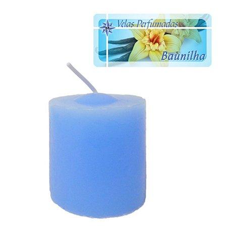 Kit 3 Velas Perfumadas de 1 dia - Aroma Baunilha