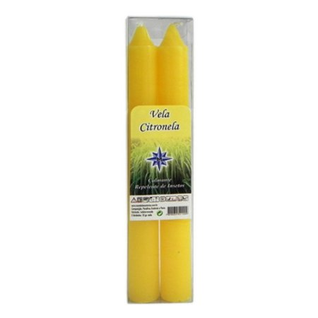 Vela Perfumada no Aroma de Citronela Caixinha com 2 Unidades