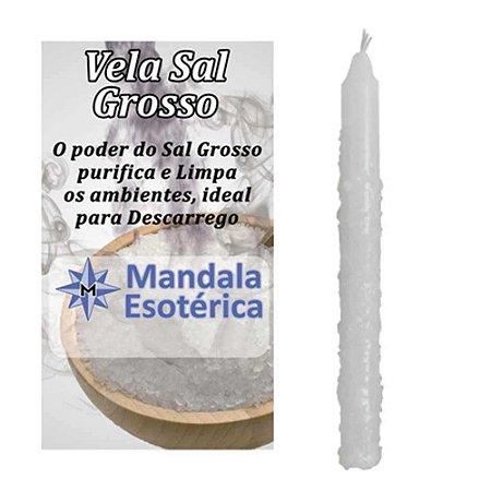 Vela Com Sal Grosso