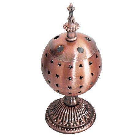 Turibulo de mesa bronze
