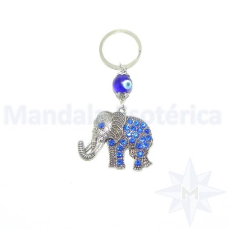 Chaveiro Elefante com Olho Grego