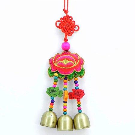 Mobile Feng Shui- Peixe e borboleta