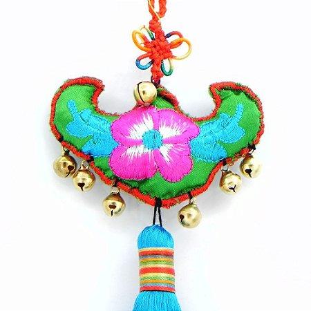 Mobile Feng Shui - Flor com sinos