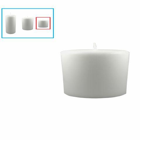 Velas para decoração pequena, branca