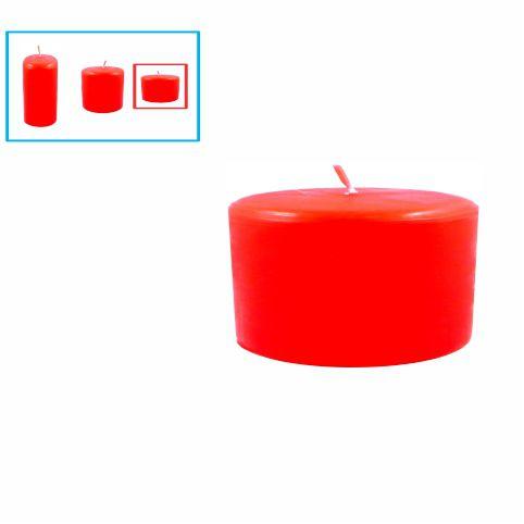 Velas para decoração pequena, vermelha
