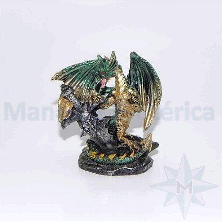 Dragão com Espada - D