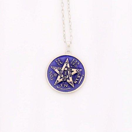 Gargantilha Tetragrama - Níquel