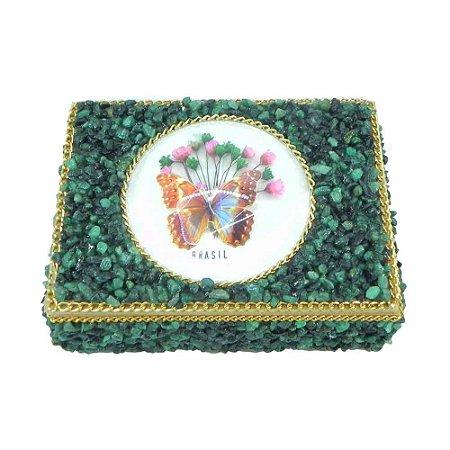 Caixa Artesanal com Pedra