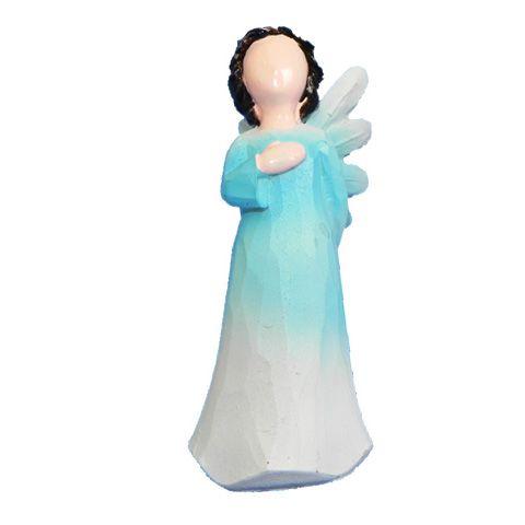 Anjo sem rosto criança - Azul