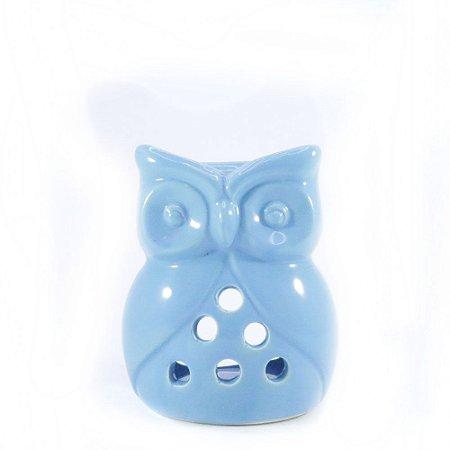 Rechô de Cerâmica de Coruja - Azul