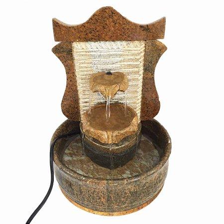 Fonte Duas Quedas em Pedra Sabão