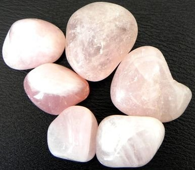 Pedra Rolada Quartzo Rosa