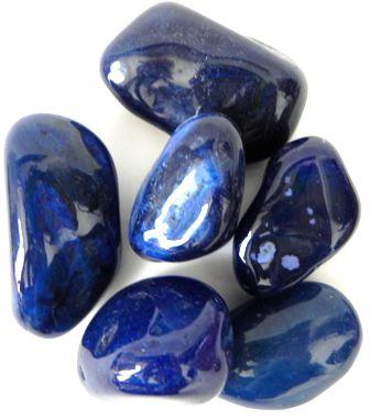 Pedra Rolada Ágata Azul