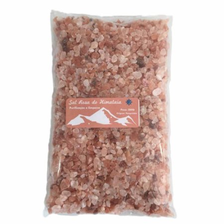Sal Rosa Do Himalaia  Grosso - - 500g