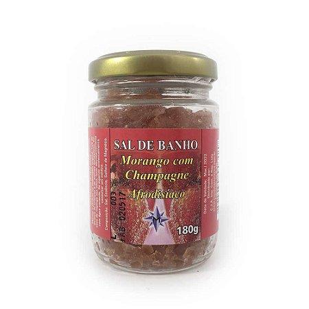 Sal de Banho Morango com Champagne - 180g