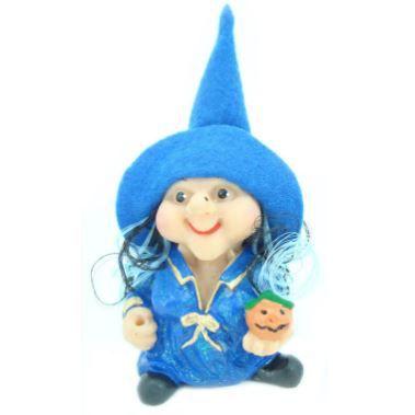 Bruxa Dorah dos Desejos Azul