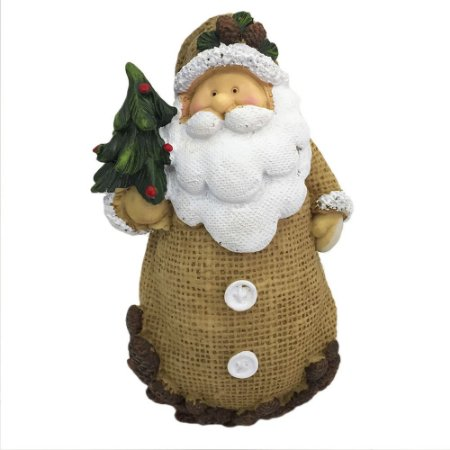 Papai Noel com Árvore de Natal