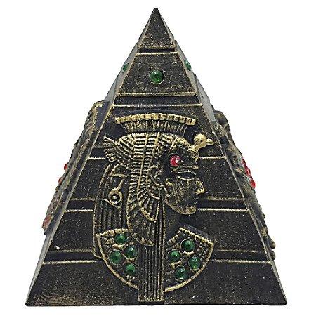 Pirâmide Resina com Strass G