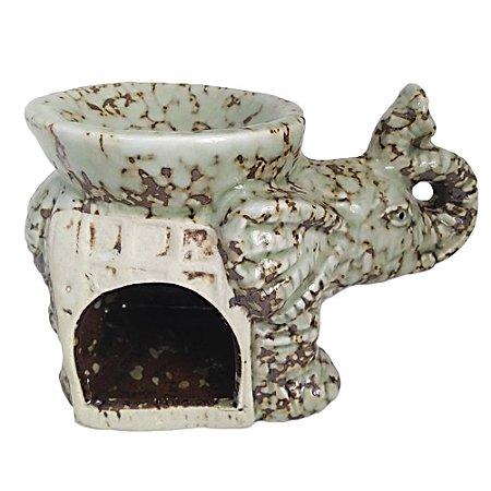 Rechô Elefante em Cerâmica