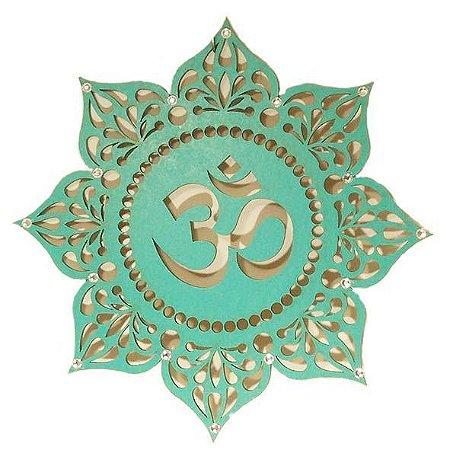 Mandala Om em MDF