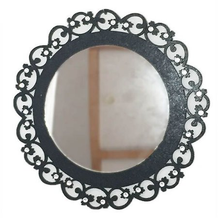 Mandala MDF com espelho