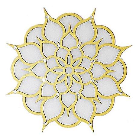 Mandala Flor em MDF