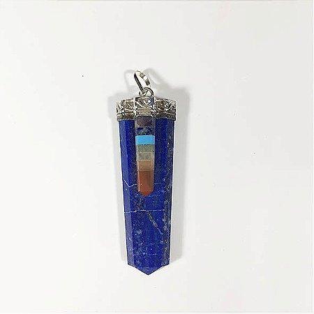Pingente 7 Chakras Lapis Lazuli