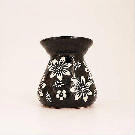 Rechô em Cerâmica com Flores