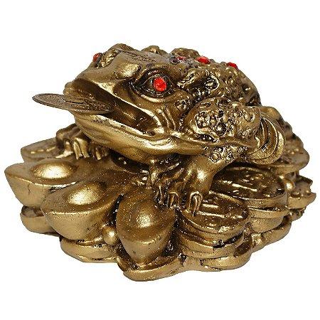 Estatueta de Sapo Ouro Velho
