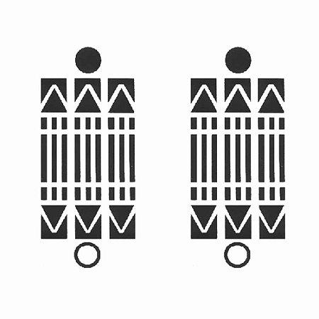 Adesivo Gráfico Luxor 6 x 6