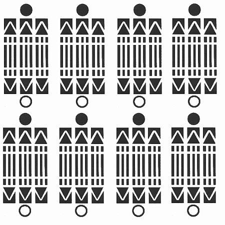 Adesivo Gráfico Luxor 7 x 8