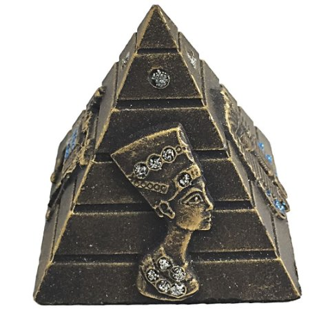 Pirâmide Resina com Strass P