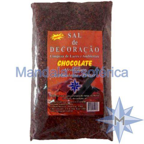 Sal De Decoração Chocolate