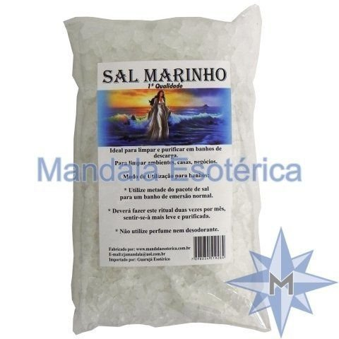 Sal Marinho - 800g