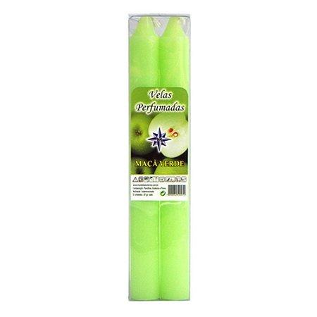 Vela Perfumada Maçã Verde