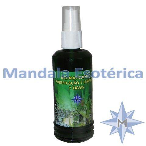 Aromatizador Purificação E Limpeza 7 Ervas