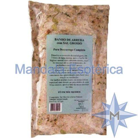 Banho de Arruda com Sal Grosso - 500g