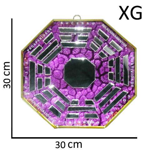 Bá-guá Espelhado Lilás Extra Grande