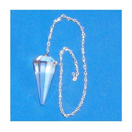 Pendulo Facetado Cristal 3x2