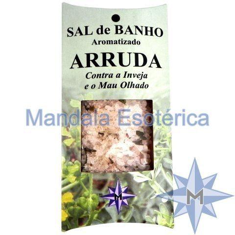 Sal de Banho Aromatizado - Arruda - 100g